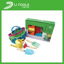 Plastic toy kids garden tool kit set