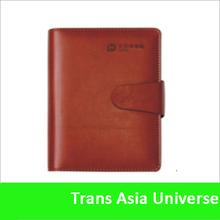 Popular custom agenda PU leather notebook factory
