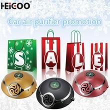 protable car air purifier dv 12v negative ion