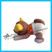 small plastic lucky puppy toy in china