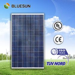 best quality BLUESUN factory supply 60cells polycrystalline 250w solar panels silicone sealant