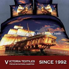 pure cotton 4 pieces home textiles quilt/duvet cover sets all sizes 5D print