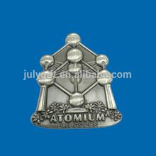 custom fridge magnet puzzle with belgium atomium