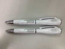 Pen 3 in 1 plastic LED light factory audit SA8000 Sedex plastic ball point pen OEM logo