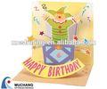 carte di buon compleanno disegno del fumetto per bambini