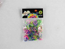 cheap colorful loom loom bands children fun diy bracelet opp packs