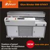 18 year manufacturer New 976V7 A3 length auto side glue work-book bind machine