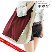 resable foldable canvas cotton nylon bags shopping