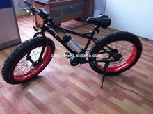 Fat e bike -- Jiangsu electric bike 350w Wattage and Lithium Battery Power Supply pocket bike electric starter