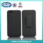 Hybrid holster clip kickstand combo case cover for iphone plus