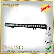 260W 42 Inch 9-60V DC high quality CREE LED off road LED light bar