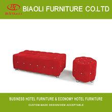 leather pouf ottoman footstool