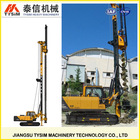 portable land digging machines, Max depth customized, KR80M long spiral Hydraulic rotary drilling rig
