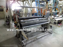 Plastic bag film blowing machine with Embossing Roller and Corona