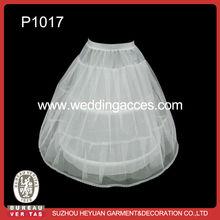 P1017 Hot Sale Lovely 2-Hoop Bridal Wedding Dress Hoop Petticoat for Chirdren