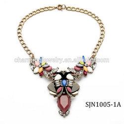 Vintage Latest Design 18k Gold Necklace For Women