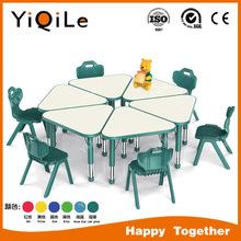 Kindergarten outdoor furniture set kids party furniture