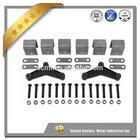 Professional trailer parts manufacturer trailer doule eye leaf spring suspension hanger kit