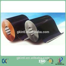 Black chrome plated flat panel solar water heater sheet