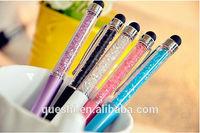 Phone IPod Mobile ultrafine dual capacitive pen stylus pen signature diamond pieces