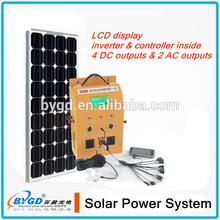 AC 230v home solar system india 500 watt solar system