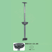 Guangzhou JingXiang Foldable Luggage Trolley Handle Parts Accessory Metal Bag Handle For Best Designer Trolley Bag