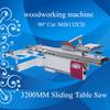 MJ6132CD precision panel saw 90 degree cut wood cutting