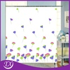 2015 Christmas Shower Curtain Printing Flowers
