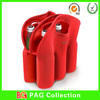 Neoprene six pack bottle wine/beer tote/ cooler bag/holder/sleeves