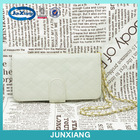 pu material lady wallet phone case leather flip cover for iphone5
