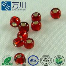 glass beads, Wholesale lampwork rose decorative round glass bead