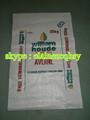 60x90cm pp bolsas tejidas de trigo harina de bolsa, saco de harina, bolsa de polipropileno tejido