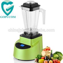 3hp LCD display BPA free tritan jug food mixer