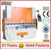 High Accuracy cnc metal press break,hydraulic press break,small press break machine