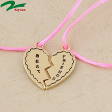 wonderful famous personalized best friends forever necklace