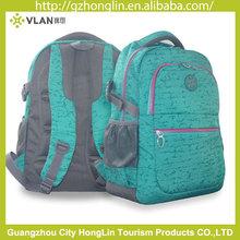 guangzhou factory waterproof fabric backpack for sale