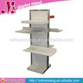 Venta al por mayor mx-msf017 de exhibición del metal muebles de góndola/exhibición de la tienda de muebles/góndola de soporte de exhibición
