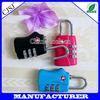 2014 new travel product TSA luggage travel bag accessories lock