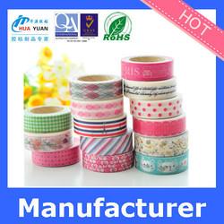 washi adhesive tape masking tape for decorative mt washi