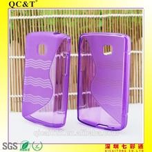S style TPU phone CASE for lg / tpu phone case for l1 ii e410 e410g