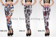 jeans jeggings/wholesale custom printed leggings/black milk clothing