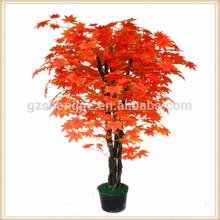 พืชบอนไซประดิษฐ์เมเปิลสีแดง