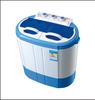 4kg cheap mini semi automatic twin tub washing machine for baby clothes canton fair booth no:1.2C 17 18 19