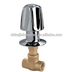 UPC long stem slow turing shower valve 006