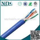 ISO9001/CE/ETL cat5e utp color code cable