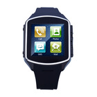 Wholesale android 4.2 dual core 1.54 inch dual sim 3G watch mobile phone built-in bluetooth and wifi e-book