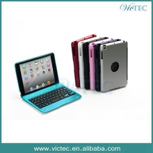 Aluminium Alloy Sale Mini Wireless Keyboard Case for iPad Mini