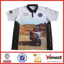 Motorcycle/Racing polo shirt/custom design polo shirt