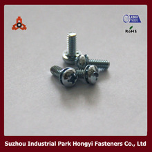 ANSI/ASME Electric Panel Screws For Pan Head Cross Recessed With Washer Attached