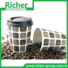 Cheap disposable paper coffee cups with lid